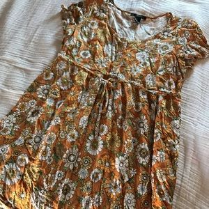 Groovy 60's floral dress